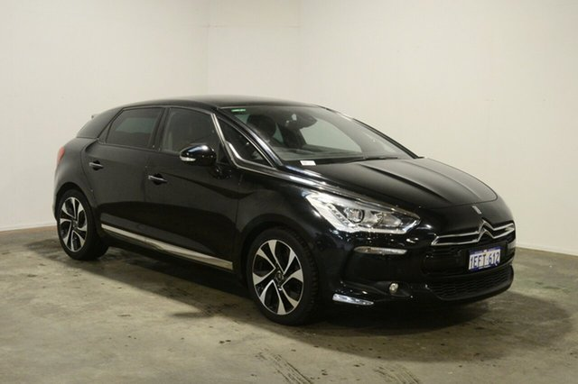 Used Citroen DS5  Dsport, 2013 Citroen DS5 Dsport Black 6 Speed Automatic Hatchback