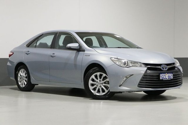 Used Toyota Camry AVV50R MY15 Altise Hybrid, 2016 Toyota Camry AVV50R MY15 Altise Hybrid Blue Continuous Variable Sedan
