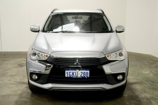 2017 Mitsubishi ASX XC MY17 LS 2WD Cool Silver 6 Speed Constant Variable Wagon