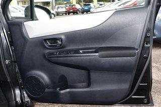 2013 Toyota Yaris NCP131R YRS Black 4 Speed Automatic Hatchback