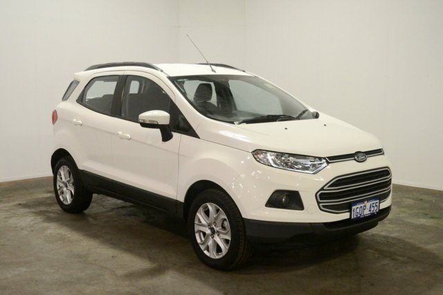 Used Ford Ecosport BK Trend, 2016 Ford Ecosport BK Trend Diamond White 5 Speed Manual Wagon