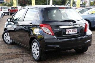 2013 Toyota Yaris NCP131R YRS Black 4 Speed Automatic Hatchback.