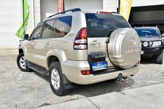 2007 Toyota Landcruiser Prado KDJ120R GXL Gold 5 Speed Automatic Wagon