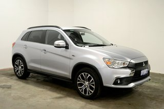 2017 Mitsubishi ASX XC MY17 LS 2WD Cool Silver 6 Speed Constant Variable Wagon.
