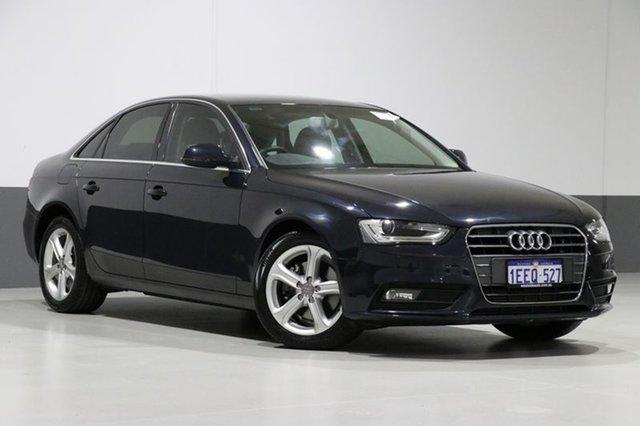 Used Audi A4 B8 (8K) MY13 1.8 TFSI, 2013 Audi A4 B8 (8K) MY13 1.8 TFSI Blue CVT Multitronic Sedan