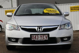 2011 Honda Civic 8th Gen MY10 VTi-L Silver 5 Speed Manual Sedan
