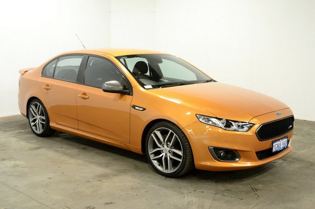 Used Ford Falcon FG X XR6 Turbo, 2015 Ford Falcon FG X XR6 Turbo Sunburst 6 Speed Sports Automatic Sedan