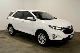 2017 Holden Equinox EQ MY18 LS FWD White 6 Speed Sports Automatic Wagon