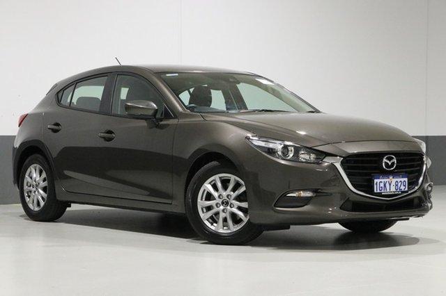 Used Mazda 3 BN MY17 Neo, 2017 Mazda 3 BN MY17 Neo Titanium Flash 6 Speed Automatic Hatchback