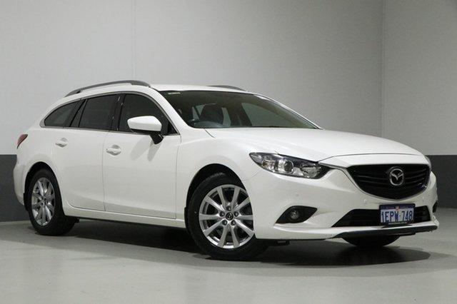 Used Mazda 6 6C MY14 Upgrade Touring, 2014 Mazda 6 6C MY14 Upgrade Touring White 6 Speed Automatic Wagon