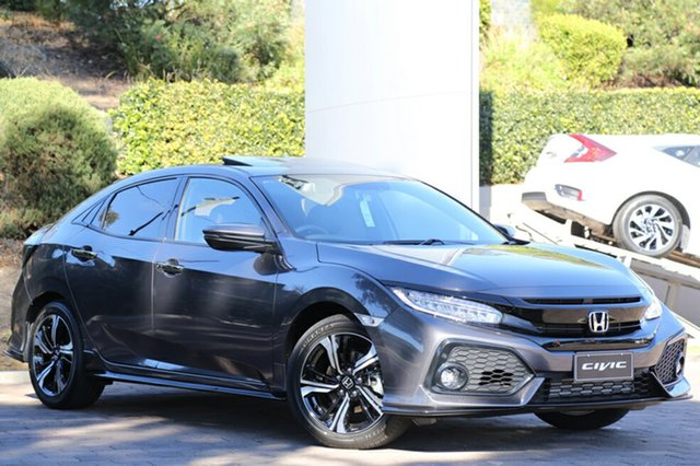 New Honda Civic 10th Gen MY18 RS, 2018 Honda Civic 10th Gen MY18 RS Modern Steel 1 Speed Constant Variable Hatchback
