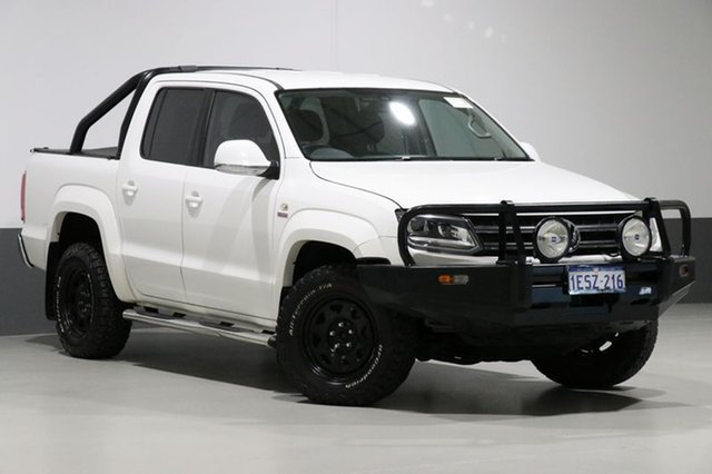 Used Volkswagen Amarok 2H MY15 TDI420 Ultimate (4x4), 2015 Volkswagen Amarok 2H MY15 TDI420 Ultimate (4x4) White 8 Speed Automatic Dual Cab Utility
