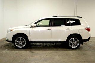 2013 Toyota Kluger GSU45R MY12 Grande AWD White 5 Speed Sports Automatic Wagon.