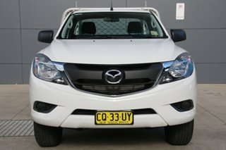 2017 Mazda BT-50 UR0YE1 XT 4x2 Hi-Rider White 6 Speed Sports Automatic Cab Chassis