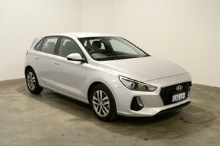 2017 Hyundai i30 PD MY18 Active Platinum Silver Metallic 6 Speed Sports Automatic Hatchback.