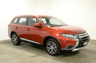 2017 Mitsubishi Outlander ZL MY18.5 ES 2WD Red 6 Speed Constant Variable Wagon