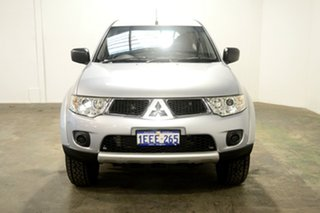 2012 Mitsubishi Challenger PB (KG) MY13 2WD Cool Silver 5 Speed Sports Automatic Wagon