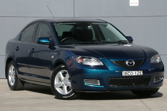 Used Mazda 3 BK10F2 Neo, 2007 Mazda 3 BK10F2 Neo Phantom Blue 4 Speed Sports Automatic Sedan