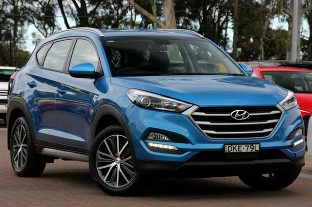 Used Hyundai Tucson TL Active X 2WD, 2016 Hyundai Tucson TL Active X 2WD Ara Blue 6 Speed Sports Automatic SUV