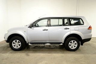 2012 Mitsubishi Challenger PB (KG) MY13 2WD Cool Silver 5 Speed Sports Automatic Wagon.