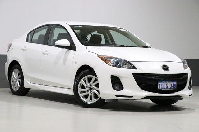 Used Mazda 3 BL MY13 SP20 Skyactiv, 2013 Mazda 3 BL MY13 SP20 Skyactiv Crystal White 6 Speed Automatic Sedan
