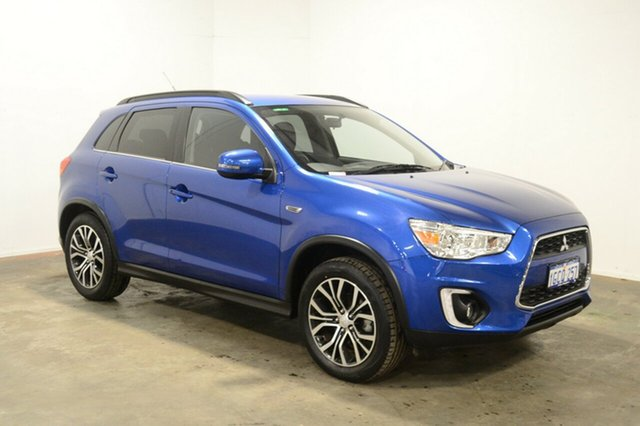 Used Mitsubishi ASX XB MY15.5 LS 2WD, 2016 Mitsubishi ASX XB MY15.5 LS 2WD Blue 6 Speed Constant Variable Wagon