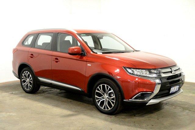 Used Mitsubishi Outlander ZL MY18.5 ES 2WD, 2017 Mitsubishi Outlander ZL MY18.5 ES 2WD Red 6 Speed Constant Variable Wagon