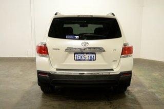 2013 Toyota Kluger GSU45R MY12 Grande AWD White 5 Speed Sports Automatic Wagon
