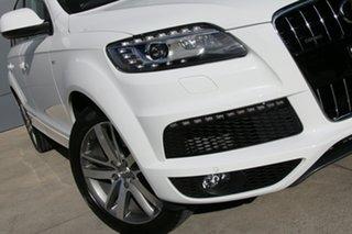 2010 Audi Q7 MY11 TFSI Tiptronic Quattro White 8 Speed Sports Automatic Wagon.