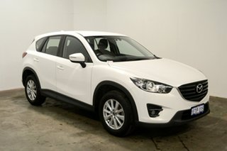 2015 Mazda CX-5 KE1032 Maxx SKYACTIV-Drive AWD Sport White 6 Speed Sports Automatic Wagon