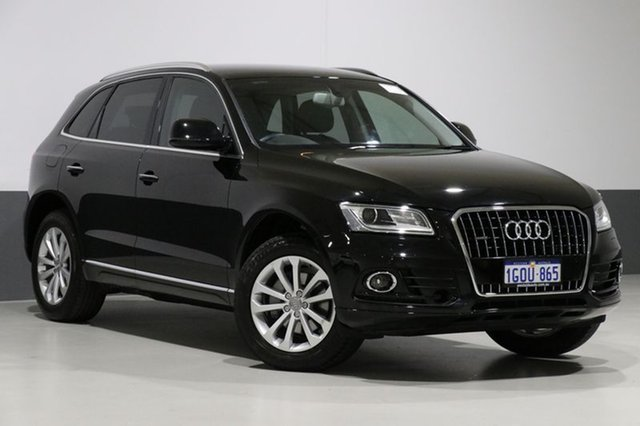 Used Audi Q5 8R MY17 TDI S tronic quattro, 2016 Audi Q5 8R MY17 TDI S tronic quattro Mythos Black 7 Speed Sports Automatic Dual Clutch Wagon