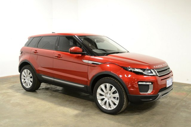 Used Land Rover Range Rover Evoque L538 MY17 TD4 150 Pure, 2017 Land Rover Range Rover Evoque L538 MY17 TD4 150 Pure Red 9 Speed Sports Automatic Wagon