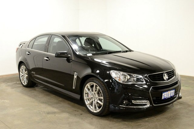 Used Holden Commodore VF MY14 SS V Redline, 2013 Holden Commodore VF MY14 SS V Redline Black 6 Speed Sports Automatic Sedan