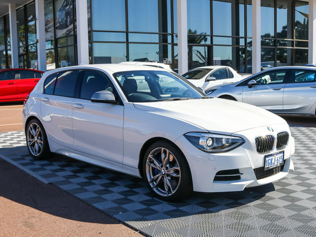Used BMW M135i F20 Steptronic, 2013 BMW M135i F20 Steptronic White 8 Speed Sports Automatic Hatchback
