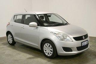 2011 Suzuki Swift FZ GL Silver 4 Speed Automatic Hatchback.