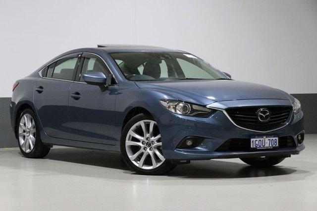 Used Mazda 6 6C Atenza, 2014 Mazda 6 6C Atenza Blue 6 Speed Automatic Sedan