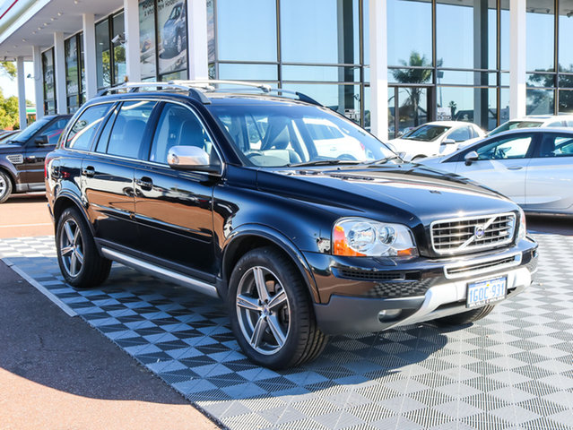 Used Volvo XC90 P28 MY10 V8 Geartronic R-Design, 2009 Volvo XC90 P28 MY10 V8 Geartronic R-Design Black/Grey 6 Speed Sports Automatic Wagon