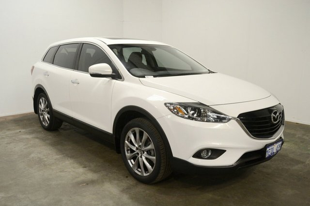 Used Mazda CX-9 TB10A5 Luxury Activematic, 2014 Mazda CX-9 TB10A5 Luxury Activematic White 6 Speed Sports Automatic Wagon