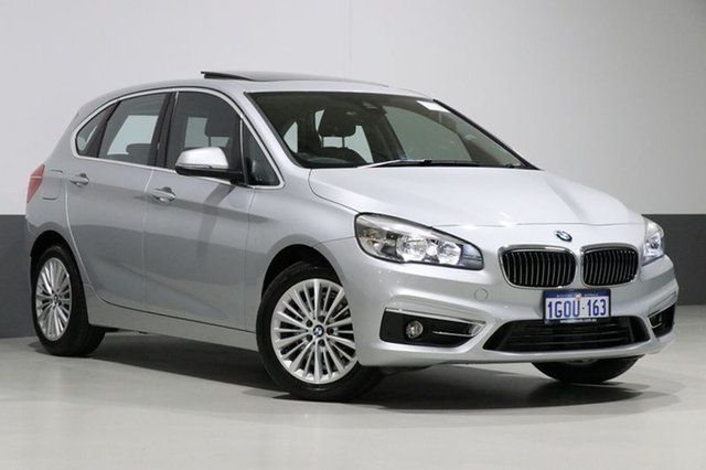 Used BMW 218d F45 Active Tourer Luxury Line, 2014 BMW 218d F45 Active Tourer Luxury Line Silver 8 Speed Automatic Wagon