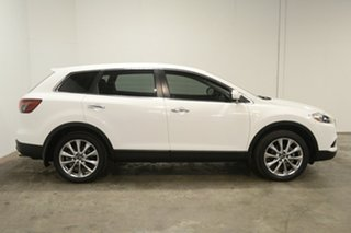 2014 Mazda CX-9 TB10A5 Luxury Activematic White 6 Speed Sports Automatic Wagon