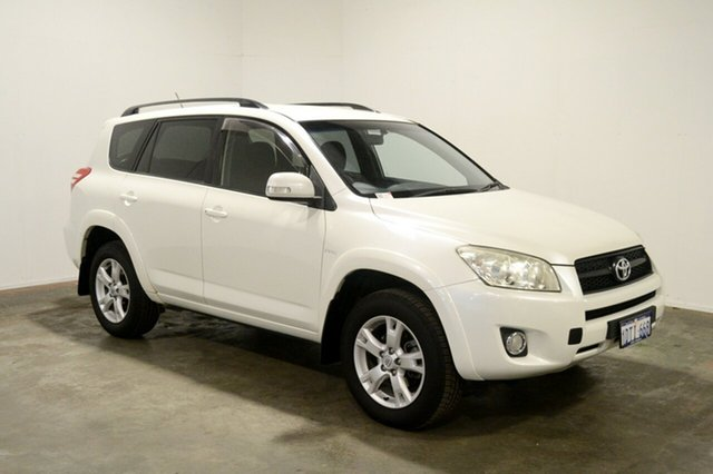 Used Toyota RAV4 ACA38R MY11 Cruiser 4x2, 2011 Toyota RAV4 ACA38R MY11 Cruiser 4x2 White 4 Speed Automatic Wagon