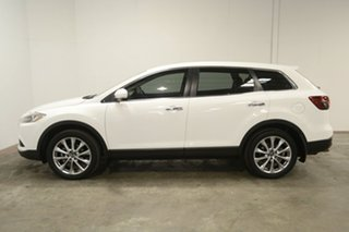 2014 Mazda CX-9 TB10A5 Luxury Activematic White 6 Speed Sports Automatic Wagon.