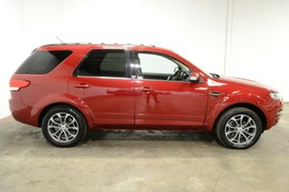 2012 Ford Territory SZ Titanium Seq Sport Shift Maroon 6 Speed Sports Automatic Wagon