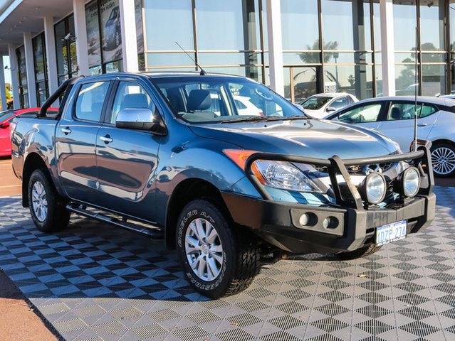 Used Mazda BT-50 UP0YF1 XTR, 2012 Mazda BT-50 UP0YF1 XTR Blue 6 Speed Sports Automatic Utility