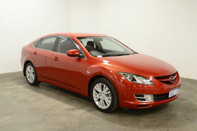 Used Mazda 6 GH1051 MY09 Classic, 2009 Mazda 6 GH1051 MY09 Classic Red 5 Speed Sports Automatic Hatchback