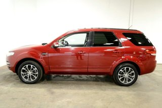 2012 Ford Territory SZ Titanium Seq Sport Shift Maroon 6 Speed Sports Automatic Wagon.