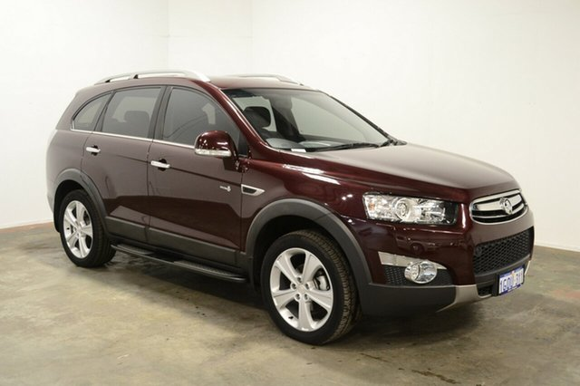 Used Holden Captiva CG Series II 7 AWD CX, 2012 Holden Captiva CG Series II 7 AWD CX Red 6 Speed Sports Automatic Wagon