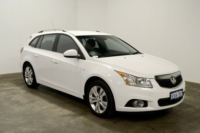 Used Holden Cruze JH Series II MY14 CDX Sportwagon, 2013 Holden Cruze JH Series II MY14 CDX Sportwagon White 6 Speed Sports Automatic Wagon