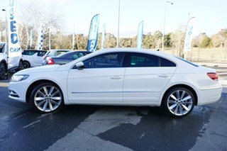 2013 Volkswagen CC Type 3CC MY14 130TDI DSG White 6 Speed Sports Automatic Dual Clutch Coupe