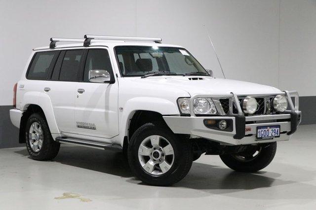 Used Nissan Patrol GU VII ST (4x4), 2010 Nissan Patrol GU VII ST (4x4) White 5 Speed Manual Wagon